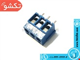 CONNECTOR 3PIN BLUE (163)