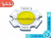 LED WHITE 3W GERD COB GHOTR 11MM
